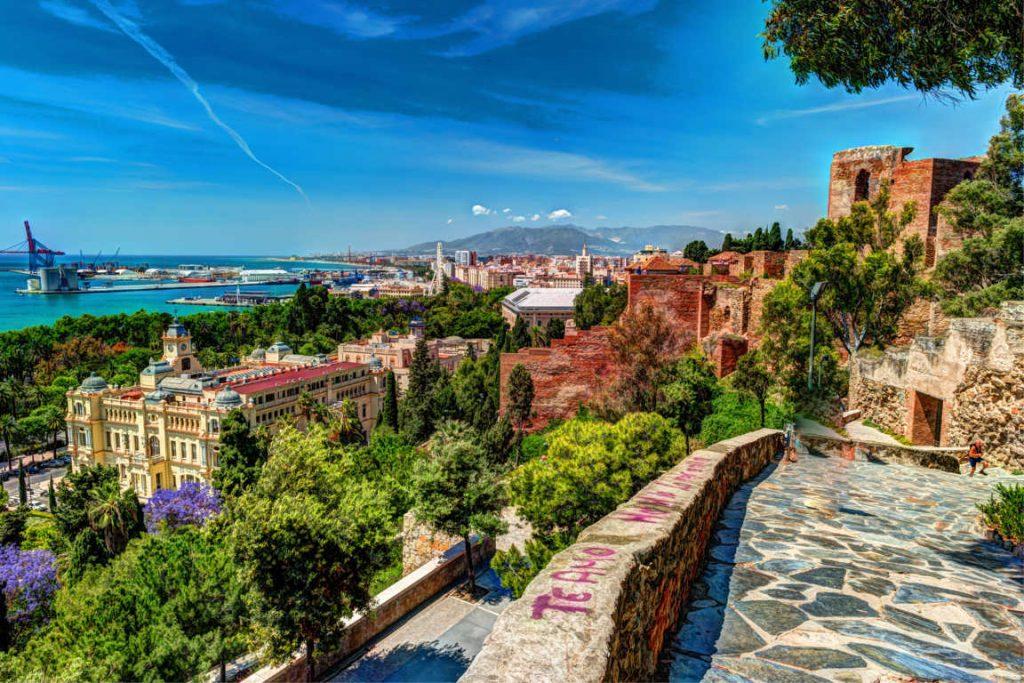Visitando la Málaga monumental